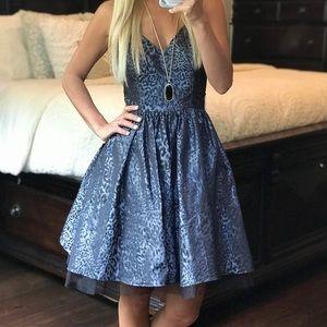 Betsey Johnson Leopard Mini Dress